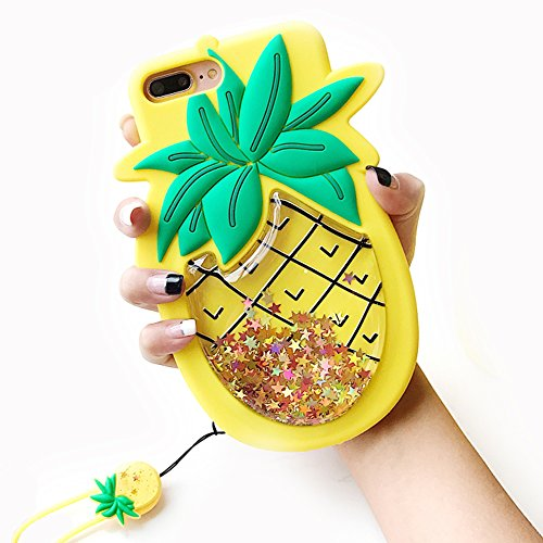 iPhone Feeling Silicone Creative Pineapple product image