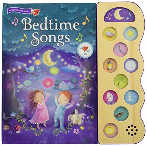 Bedtime Songs: 10-Button Children's Sound Book (10 Button Sound) [Scarlett Wing - Cottage Door Press] (Tapa Dura)