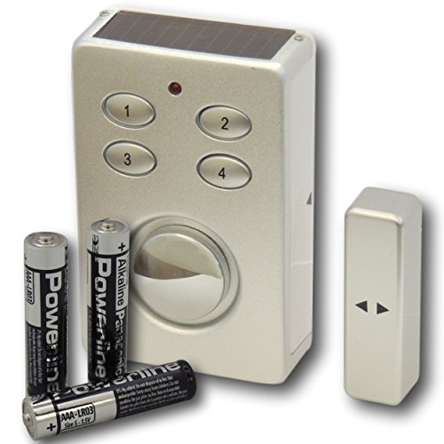 eposgear wireless battery solar powered window and door magnetic contact sensor keypad alarm. Black Bedroom Furniture Sets. Home Design Ideas