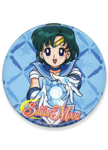 Great Eastern Entertainment Sailor Moon Mercury Icon Button, 3