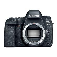 Canon EOS6DII EOS 6D Mark II DSLR Camera - Body Only - Black EOS6DII
