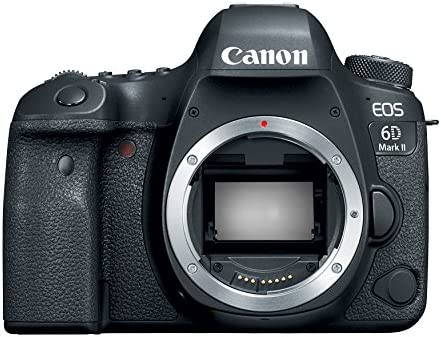 Canon EOS 6D Mark II Digital SLR Camera Body Wi-Fi Enabled 1897C002