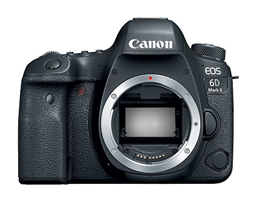 Canon EOS 6D Mark II Digital SLR Camera Body – Wi-Fi Enabl
