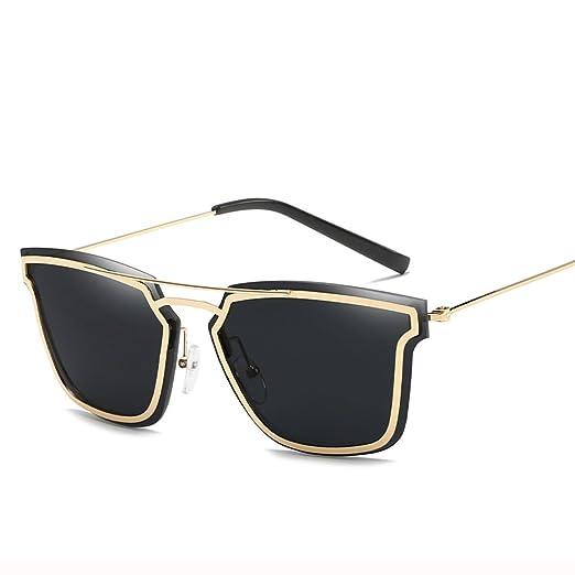 Wkaijc Trend Metall Damen Mode Persönlichkeit Kreativität Lässig Bequem Sonnenbrillen Sonnenbrillen,C