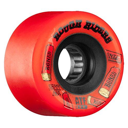 インチ彼らは武器ボーンズ ウィール/ATF ROUGH RIDERS SHOTGUN RED 56mm (ソフトウィール) スケートボード ウィール スケボー ソフト ウィール クルーザー クルージング