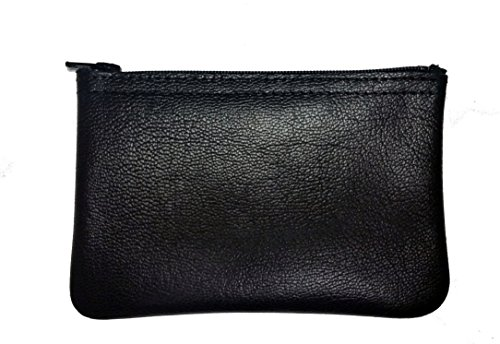 (MJL Genuine Napa Leather coin purse. Buttery soft. Made in USA.)