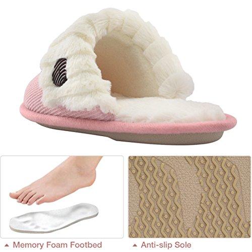 Pantofole Da Casa Sfoderate A Mano In Memory Foam Sfoderate A Mano In Morbida Lana Hometop Da Donna