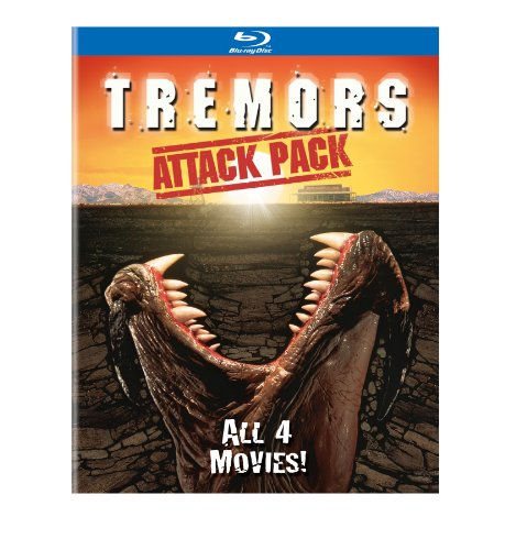 Pack Finish Fan (Tremors: Attack Pack (All 4 Movies) [Blu-ray])