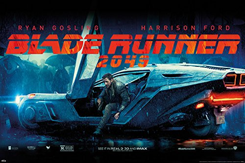 Blade Runner 2049 - Movie Poster / Print (Ryan Gosling / Flying Car) (Size: 36
