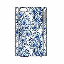 For Apple Touch 6 Print Blue And White Porcelain 3 For Men Case Character Plastic