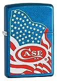 Case 52443 Zippo USA Flag Lighter