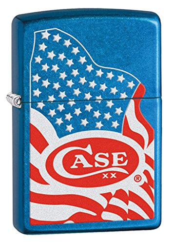 Case 52443 Zippo USA Flag Lighter by Case