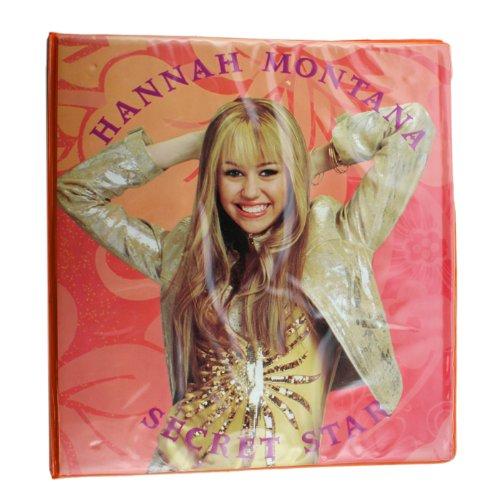Orange Hannah Montana 3 Ring Binder - 2 Inch Hannah Montana Binder