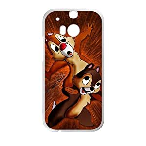 Printed Cover Protector HTC One M8 Cell Phone Case Chip and Dale Dwjpd Unique Design Cases