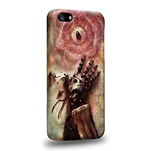 Case88 Premium Designs 1241 Fullmetal Alchemist Stone of the philosophers Protective Snap-on Hard Back Case Cover for Apple iPhone 5c