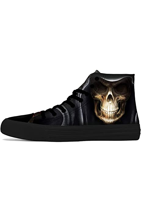 FIRST DANCE Shoes Mens Cool Skull Boots