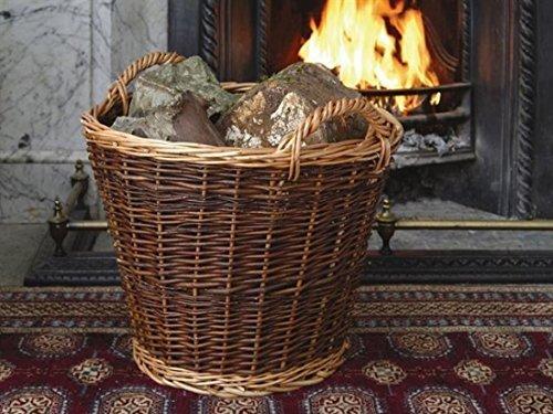 Heavy Duty Wicker Log Basket Large by Stow
