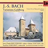 Bach: Variations Goldberg (Version pour trio à cordes de Dimitri Sitkovetsky)