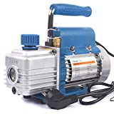 1 Stage Rotary Vane Vacuum Pump for Refrigeration Print Package 220V 150W