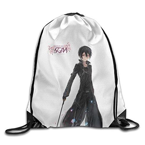 Bekey Sword Art Online Gym Drawstring Backpack Bags For Men & Women For Home Travel Storage Use Gym Traveling Shopping Sport Yoga - Nikita Shopping Online