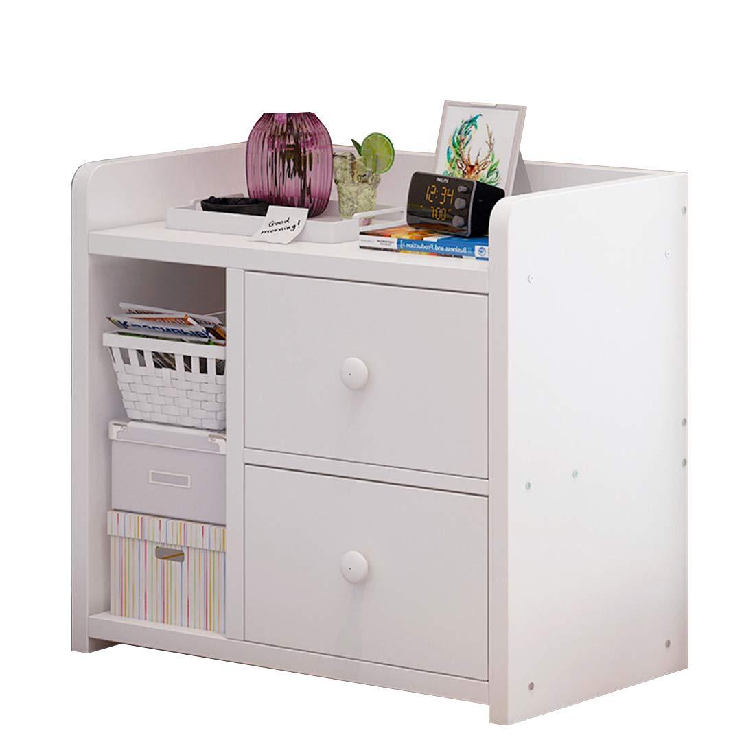 Tnosky Modern Aus Holz Nachttisch Einfach Mini Mit Schublade Schließfach Wohnzimmer Schlafzimmer Nachttisch,C
