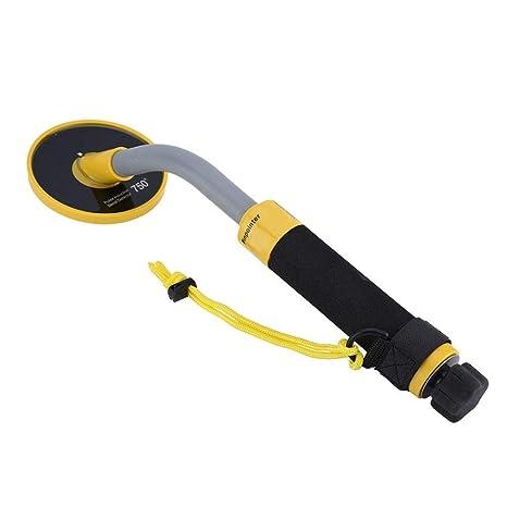 Detector de Metales Subterráneo PI750 Handheld Detector Impermeable Impulso de Inducción Ajuste Automático para Oro,
