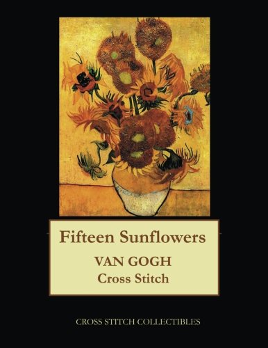 Read Online Fifteen Sunflowers: Van Gogh cross stitch pattern PDF