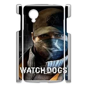 Google Nexus 5 Phone Case White Watch Dogs ESTY7812341