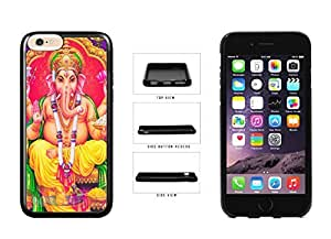 Colorful Ganesha TPU RUBBER SILICONE Phone Case Back Cover Apple iPhone 6 Plus (5.5 Inches)
