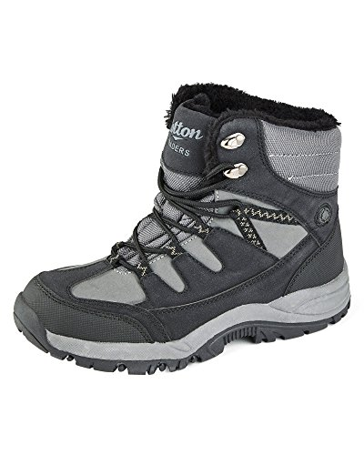 Unisex Navy Womens Mens Waterproof Boots Ladies Cotton Traders Snow S1qwP