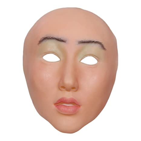 FHSGG Máscaras Femeninas realistas Máscara de Silicona Sexy ...
