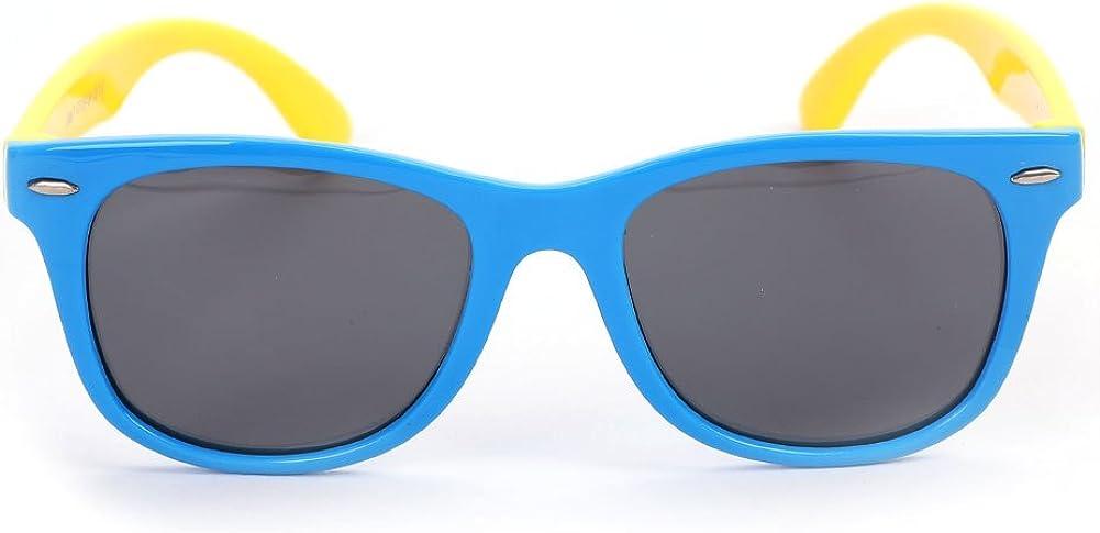 Kids Sunglasses UV400 Shades Sunglesses Polarized Glasses 100/% UV Proof Sunglasses Flexible Rivet Reflective Eyewear Sun Protection Spectacles Sports Eyewear for Children