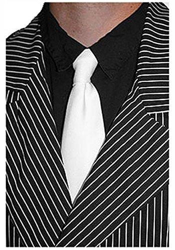 John Dillinger Halloween Costume (White Gangster Tie Standard)