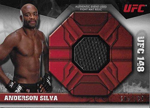 2013 Topps Knockout Fight Mat Relics #FMR-AS Anderson Silva NM-MT MEM 105/188