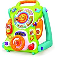 Smartcraft Baby Activity Table Walker, New Learning Musical Walker for Kids