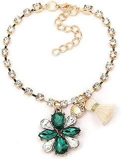 Braccialetti Gioielli personalizzati Catena Retro Fashion, Verde