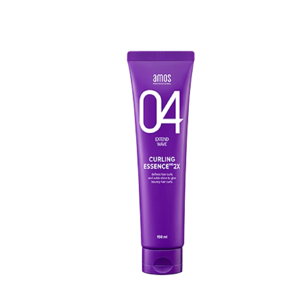 KOREAN HAIR CARE_ AMOS Professional Curling Essence 2x. 1EA(150ml, curl up twice reinforced, soft texture)[001KR] by AMOS