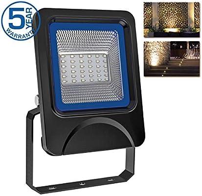 Foco Proyector LED 20W Focos LED de Exterior 3030 LED Chip 2100lm ...