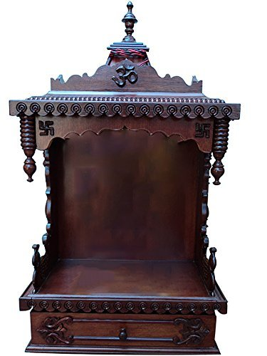 0c738aaa7c7 Buy Shilpi Handcrafted Wooden Home Temple   Wooden Temple   Pooja ...