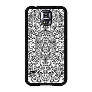 Beautiful Giorgio Armani Phone Case Cover For Samsung Galaxy S5 I9600 With A Variety Of Purple Bubble