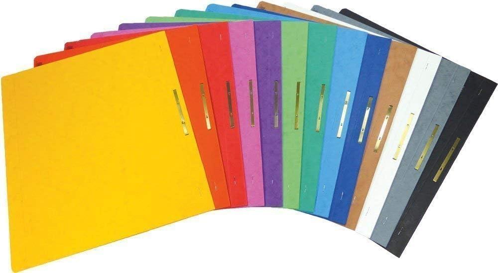 20er Pack, Alle Farben 20 Brunnen extra stabile Schnellhefter aus Colorspan Kartonschnellhefter in 13 intensiven Farben extra stark 375g