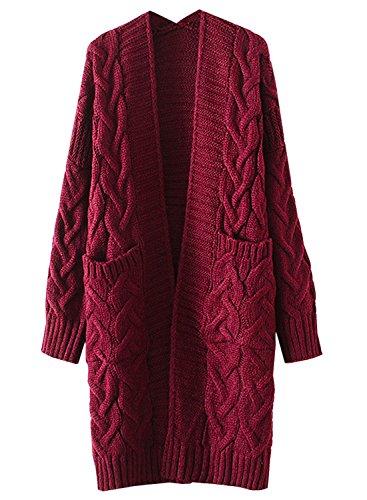 Futurino Womens Longline Sweater Cardigan product image