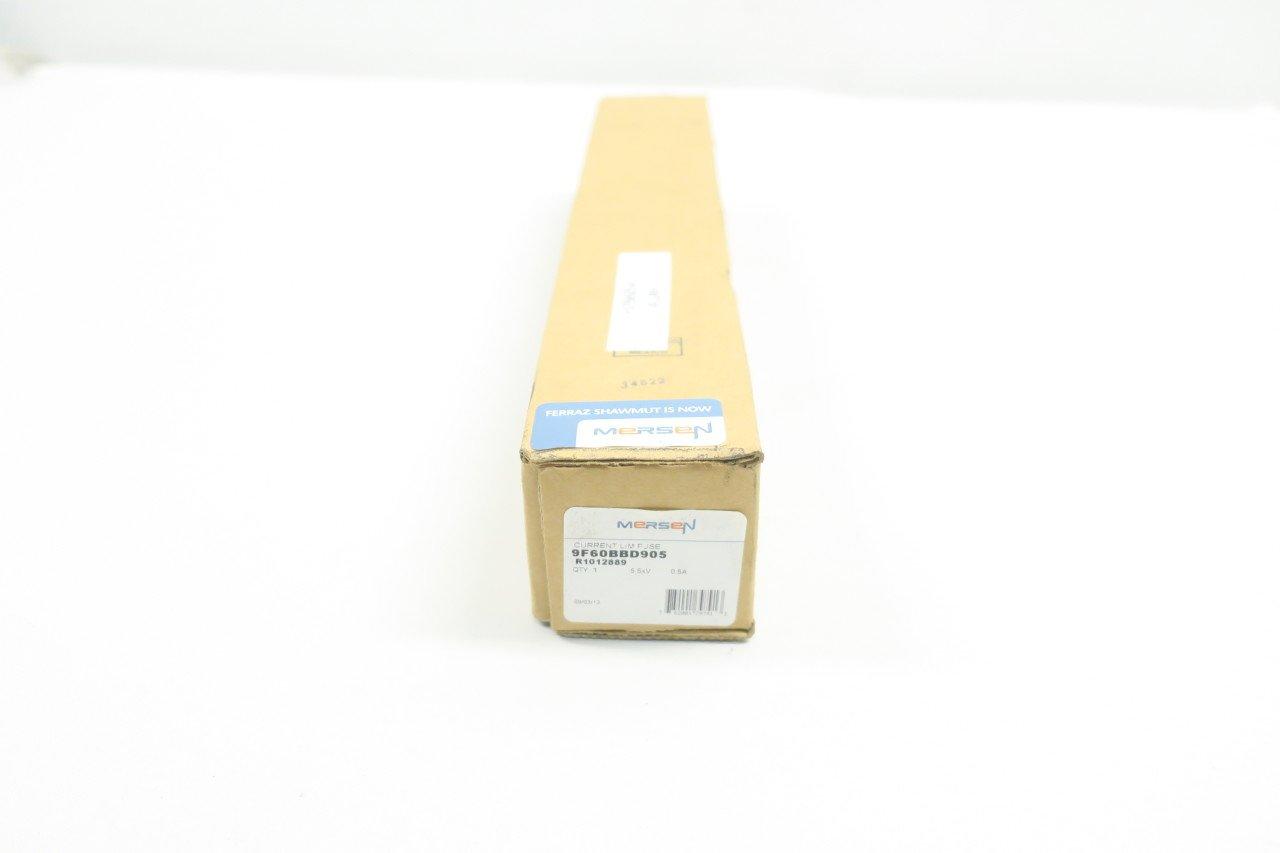 NEW FERRAZ SHAWMUT 9F60BBD905 R1012889 CURRENT LIMITING FUSE 0.5A 5.5KV D585706