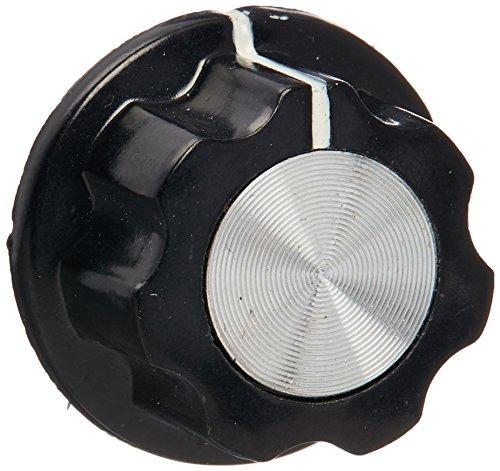"Adjustable Turn 18.5mm Top 1//4/"" Shaft Insert Dia Potentiometer Rotary Knobs"