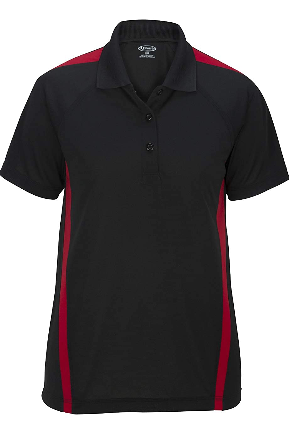 Edwards Ladies SNAG-Proof Color Block Short Sleeve Polo