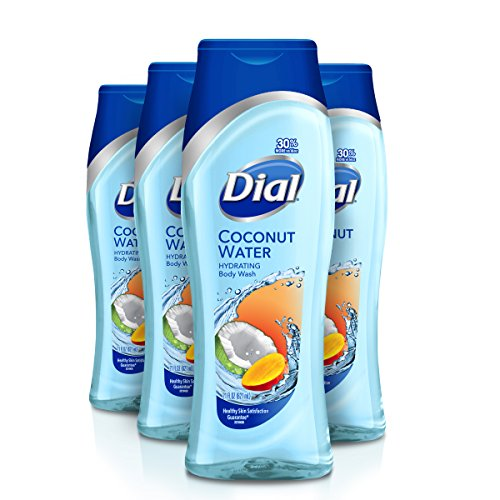 Dial Body Wash, Coconut Water & Mango, 21 Ounce (Pack of ()