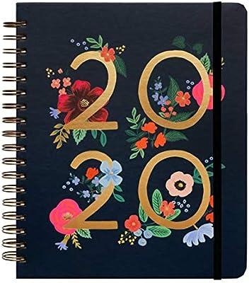 2020 Wild Rose Planificador encuadernado en espiral por ...