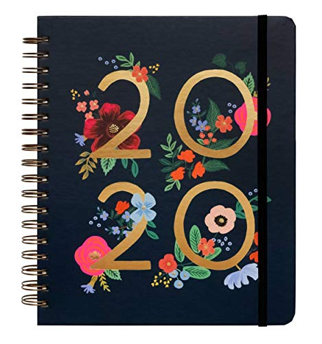 2020 Wild Rose Spiral Bound Planner by Rifle Paper Co. (Rifle Paper Calendar)