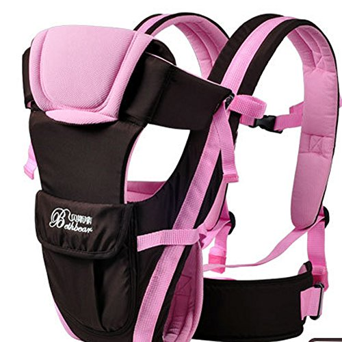 Zorro Mall Infantino Fusion Flexible Position Baby Carrier Pink