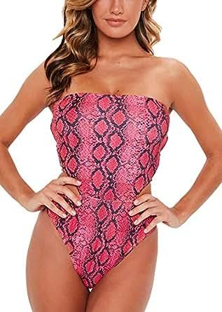 Amazon.com: Gniherii Women's SexyLeopard Print Swimsuit